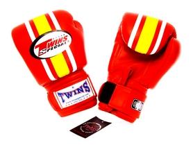 Фото 1 к товару Перчатки боксерские Twins FBGV-3-RD красные