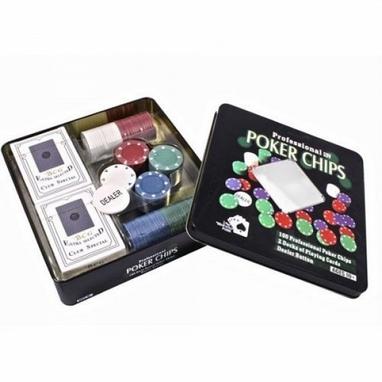 Набор для игры в покер в оловянном кейсе Duke TC04101N