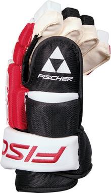 Перчатки хоккейные Fischer Hockey SX9 Gloves 2015/2016 Black/White/Red