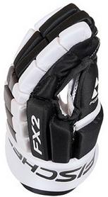 Фото 1 к товару Перчатки хоккейные Fischer Hockey FX2 Gloves 2015/2016 Black/White