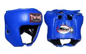 Шлем боксерский открытый Twins HGL-8-BU синий