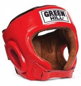 Шлем боксерский Green Hill Best HGB-4016 красный