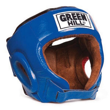 Шлем боксерский Green Hill Best HGB-4016b синий