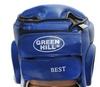 Шлем боксерский Green Hill Best HGB-4016b синий - фото 2