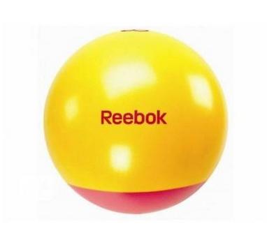 Мяч для фитнеса (фитбол) 55 см Reebok с усиленным дном розовый