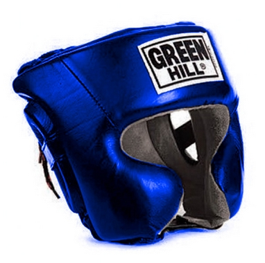 Шлем боксерский Green Hill Sparring HGS-9409b синий