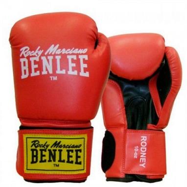 Перчатки боксерские Benlee Rodney красно-черные