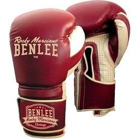 Перчатки боксерские Benlee Graziano бордовые