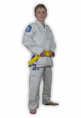 Кимоно для бразильского джиу-джитсу детское Muri Oto Kiddo 0300 белое