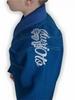 Кимоно для бразильского джиу-джитсу детское Muri Oto Kiddo 0302 синее - фото 5