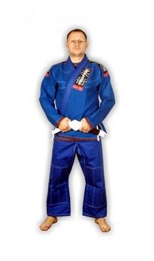 Кимоно для бразильского джиу джитсу Muri Oto 0310 синее