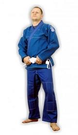 Фото 1 к товару Кимоно для бразильского джиу-джитсу Muri Oto Gaijin 0311 синее