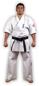 Фото 5 к товару Кимоно для карате Muri Oto Kyokushin 0213 белое