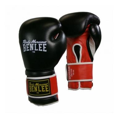 Перчатки боксерские Benlee Sugar Deluxe черно-красные