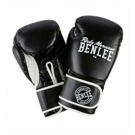 Фото 1 к товару Перчатки боксерские Benlee Quincy черные