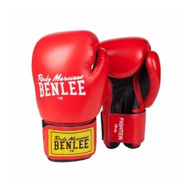 Перчатки боксерские Benlee Fighter красно-черные