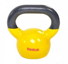 Фото 1 к товару Гиря 5 кг Reebok желтая