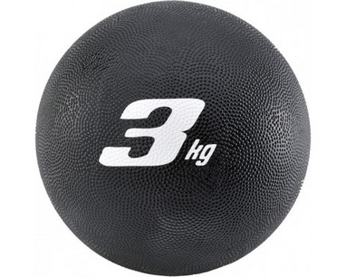 Медбол Adidas 21.6 см 3 кг черный