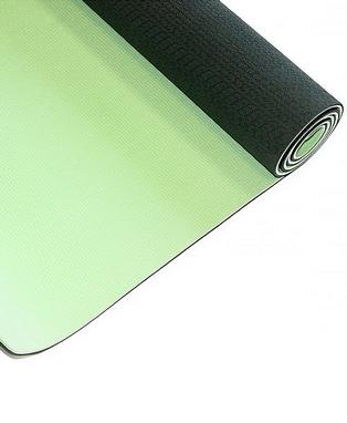 Коврик для йоги Live Up TPE Yoga Mat 4 мм black/green