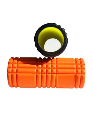 Ролик для йоги Live Up Yoga Roller orange