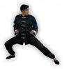 Форма для занятий кунгфу или ушу (ифу) из атласа Muri Oto 1115 черная - фото 2