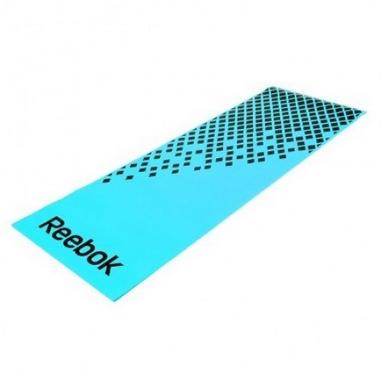 Мат для фитнеса Reebok RAMT-12235BL синий 8 мм