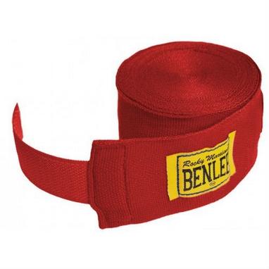 Бинты Benlee Elastic красные (3 м)