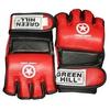 Перчатки для боевого самбо Green Hill MMA-0027 красные - фото 1
