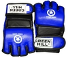 Перчатки для боевого самбо Green Hill MMA-0027 синие - фото 1
