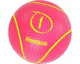 Медбол Reebok RAB-40121MG 1 кг красный