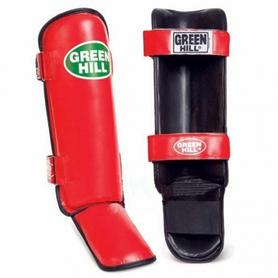 Защита для ног (голень+стопа) Green Hill Guard SIG-0012 красная