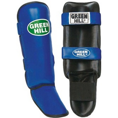 Защита для ног (голень+стопа) Green Hill Guard SIG-0012 синяя