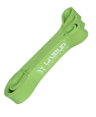 Тренажер - резиновая петля Live Up Latex Loop 2,08 м зеленый