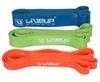 Тренажер - резиновая петля Live Up Latex Loop 2,08 м синий - фото 3