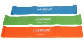 Фото 3 к товару Тренажер - резиновая петля Live Up Latex Loop 50 cм оранжевый