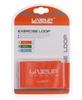 Тренажер - резиновая петля Live Up Latex Loop 50 cм оранжевый - фото 2