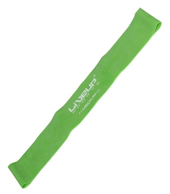 Тренажер - резиновая петля Live Up Latex Loop 50 cм зеленый