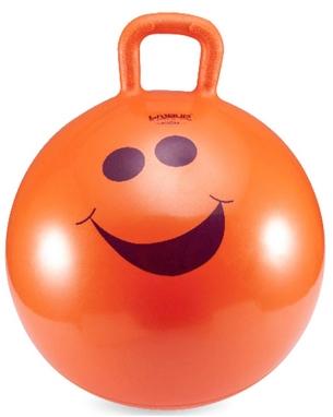 Мяч для фитнеса (фитбол) 45 см с ручкой Live Up Hopping ball