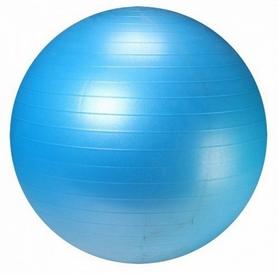 Мяч для фитнеса (фитбол) 55 см Live Up Ani-burst синий
