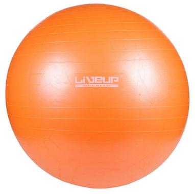 Мяч для фитнеса (фитбол) 65 см Live Up Ani-burst оранжевый