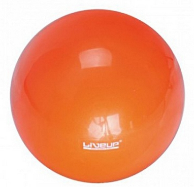 Мяч гимнастический Live Up Mini Ball оранжевый