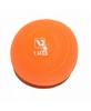 Мяч медицинский (медбол) LiveUp Soft Weight Ball 1 кг оранжевый - фото 1