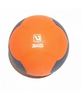 Мяч медицинский (медбол) LiveUp Medicine Ball 3 кг оранжево-серый - фото 1