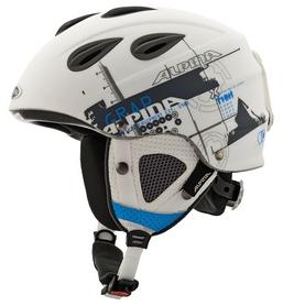 Фото 1 к товару Шлем горнолыжный Alpina Grap white