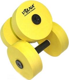 Фото 1 к товару Гантели для аква-аэробики Volna Aqua-Dumblers желтые