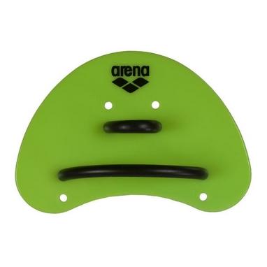 Лопатки для плавания (ласты для рук) Arena Elite Finger Paddle lime