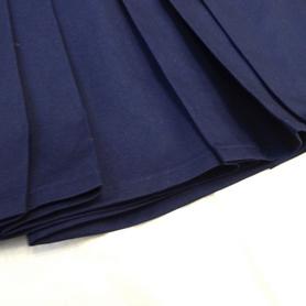 Фото 5 к товару Хакама смесовая синяя