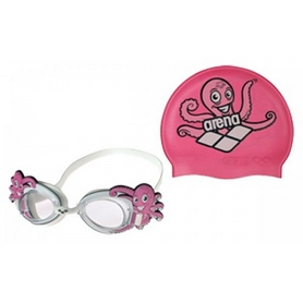 Набор для плавания Arena Bubble Set pink