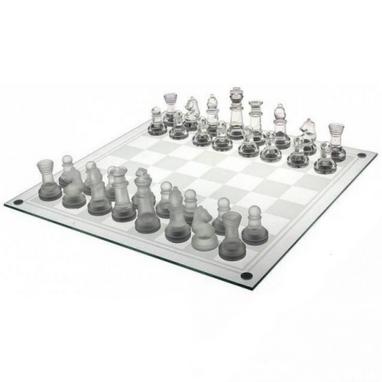 Шахматы стеклянные JB01