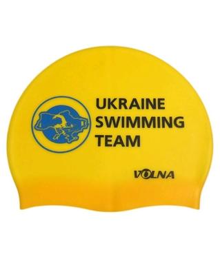 Шапочка для плавания Volna Club II yellow